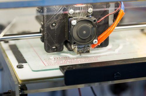 zelfbouw 3d printer plaatje